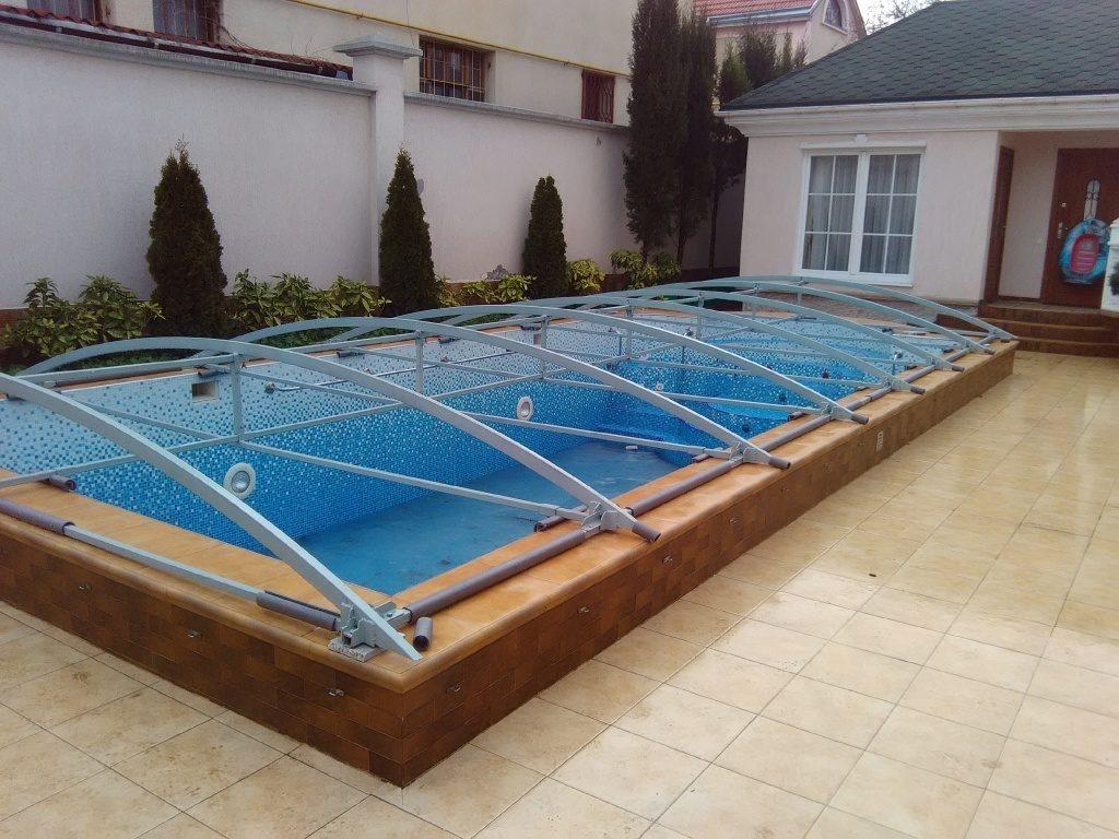 Каркас тента на бассейн