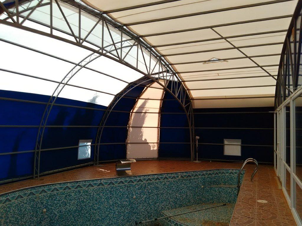 Тентовый павильон для бассейна, (Балаклава)